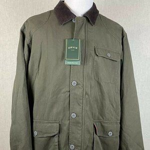 Orvis Classic Barn Coat New With Tags Size XL